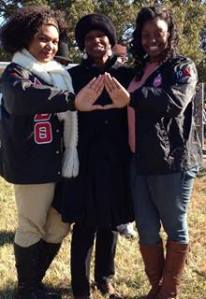 Sarah and her Delta Sisters