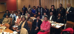 Chapter members and friends of Livingstone enjoy the fellowship